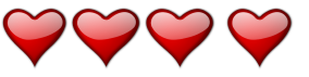 Four Hearts rating